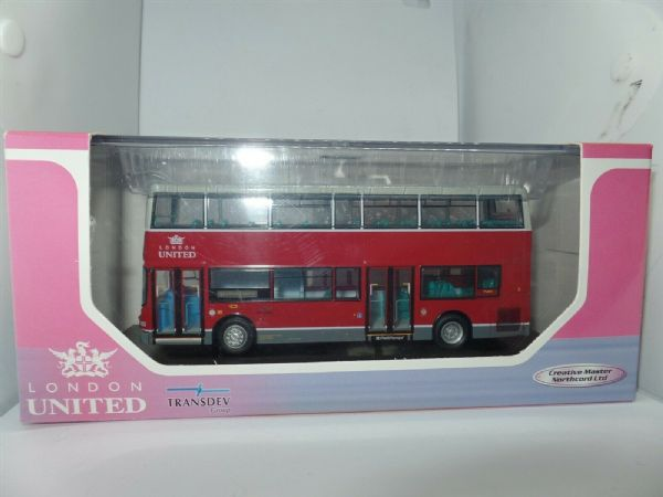 CMNL UKBUS1017 Alexander ALX400 Dennis Trident London United 94 Picadilly 1mirro